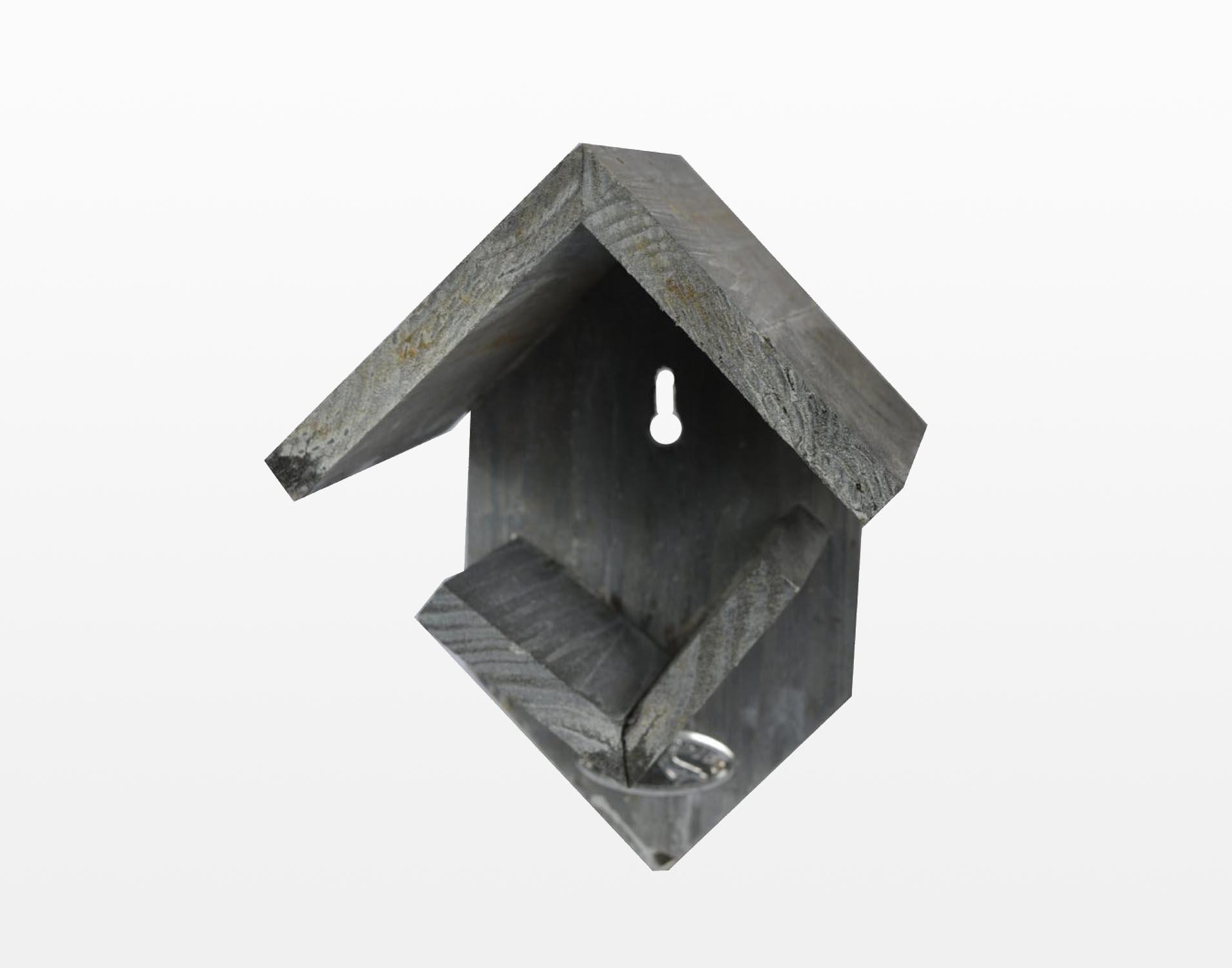 Pindakaaspothouder grijs