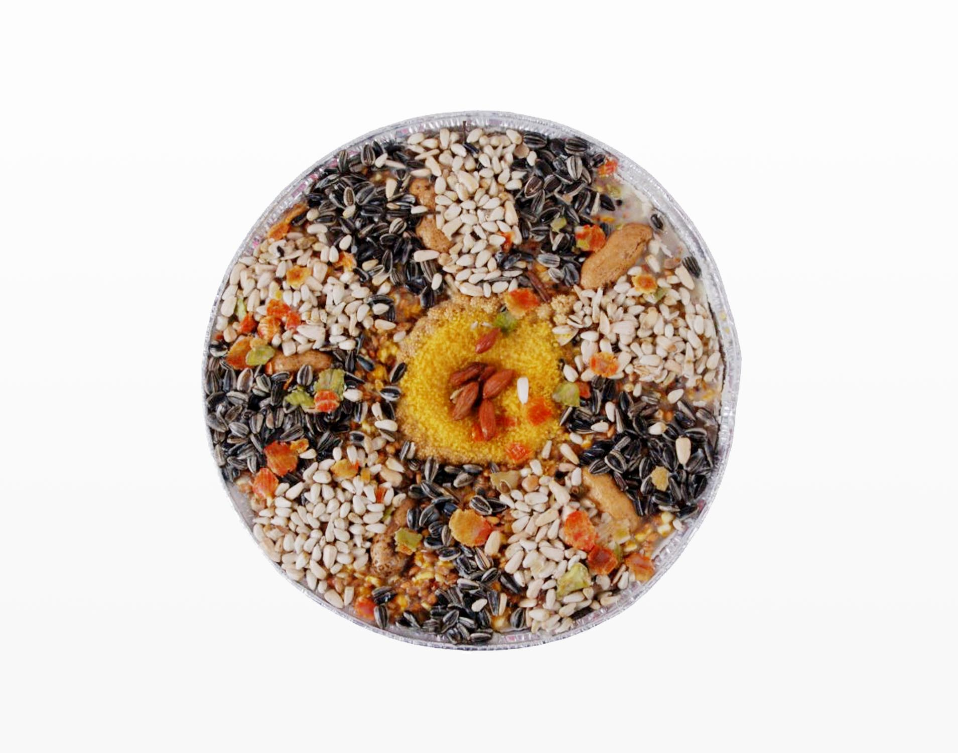 Vogelpizza vol met vitaminen - 24cm